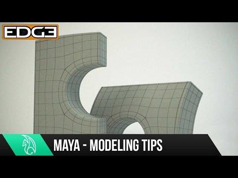Maya 2015 Modeling Tutorial - Fundamentals and Basics - Arch way