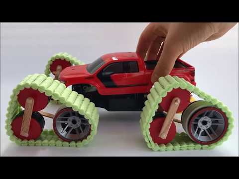 Tuning an SUV Ford F-150, caterpillars instead of wheels