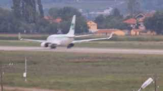 Boeing 737-700 Germania Airlines Zonguldak Take Off