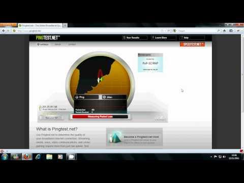Teste de perda de pacotes (Packet Loss) Oi - Brasil Telecom