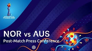 NOR v. AUS : Post-Match Press Conference