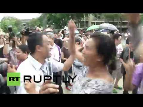 Thailand: Activists protest military rule on 2nd anniversary of coup d'etat
