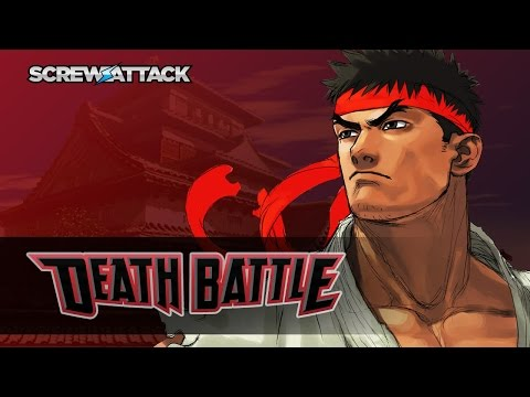 Ryu Shoryukens into DEATH BATTLE! | ScrewAttack.com