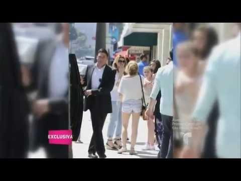 Angélica Rivera de compras en Beverly Hills