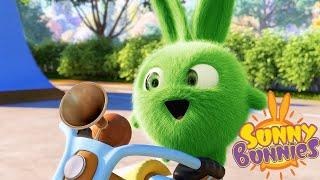 SUNNY BUNNIES | I CONIGLI IN BICI | Cartoni animati divertenti per bambini | WildBrain
