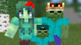 Villager and Zombie life END - Minecraft Animation