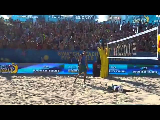 Match point Dalhausser Lucena World Tour Finals