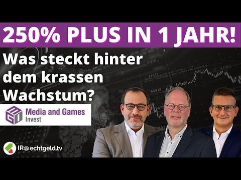 Umsatz verdoppelt, Aktie verdreifacht: So geht's weiter bei Media & Games Invest | CEO Westermann