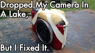 That Time I Dropped My Camera In a Lake, And Fixed It: Vacuum Chamber Water Removal