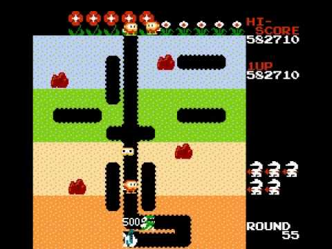 Dig Dug - 1,240,550 points - User video