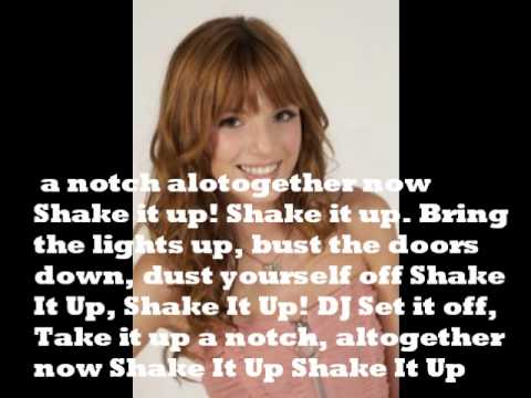 Shake it Up! (Theme Song) by Selena Gomez with Lyrics