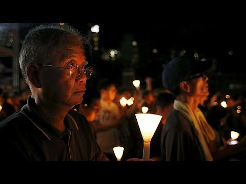 Thousands attend Tiananmen Square vigil in Hong Kong - no comment