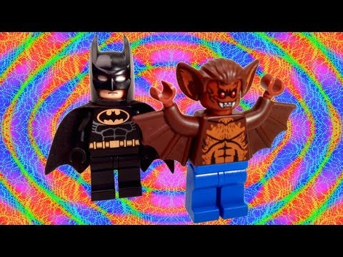 LEGO Man-Bat Custom LEGO Batman Figure Review and How To
