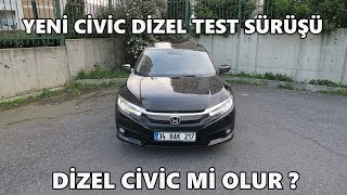 Honda Civic Sedan 1.6 Dizel (2018)   Test Sürüşü & İnceleme