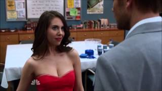 Community - Evil Annie Strips to a Hot Red Dress