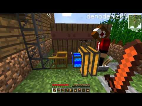 Türkçe Minecraft Modlarla Survival - Enes ile Yiğit - Bölüm 11 - Sezon 2