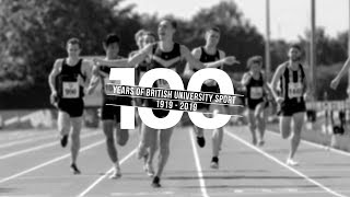 100 Years of British University Sport