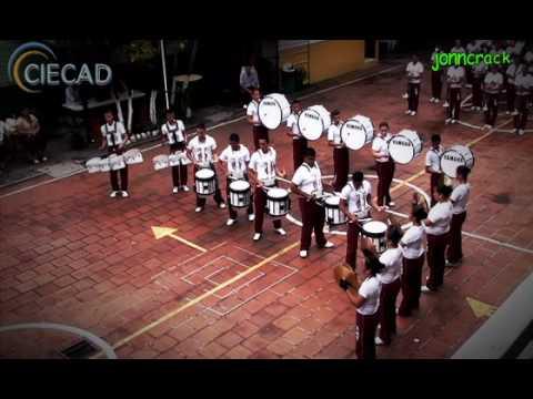 Coruña Marching Band CIECAD 2010 (Linea de Percusion)