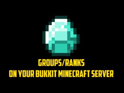 [1.6.1] How to get groups/ranks on your Bukkit Minecraft server! [1.6.1] OUTDATED