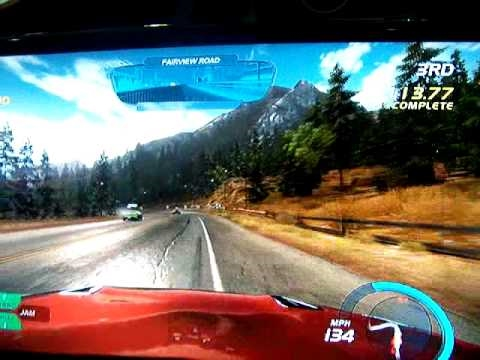 need for speed hot pursuit demo at PAX 2010 Video