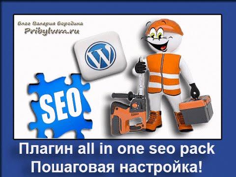 Настройка плагина All In One SEO Pack для WordPress