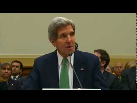 Secretary Kerry Testifies on the P5+1's First Step Agreement With Iran on its Nuclear Program