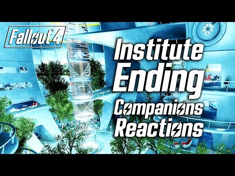 Fallout 4 - Institute Ending - All Companions Reactions