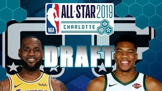 Drafting 2019 NBA All-Star Game Team Rosters (Starters & Reserves)