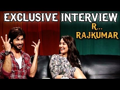 R...rajkumar - Shahid Kapoor & Sonakshi Sinha Talks About Saree Ke Fall Sa, Gandi Baat & More video