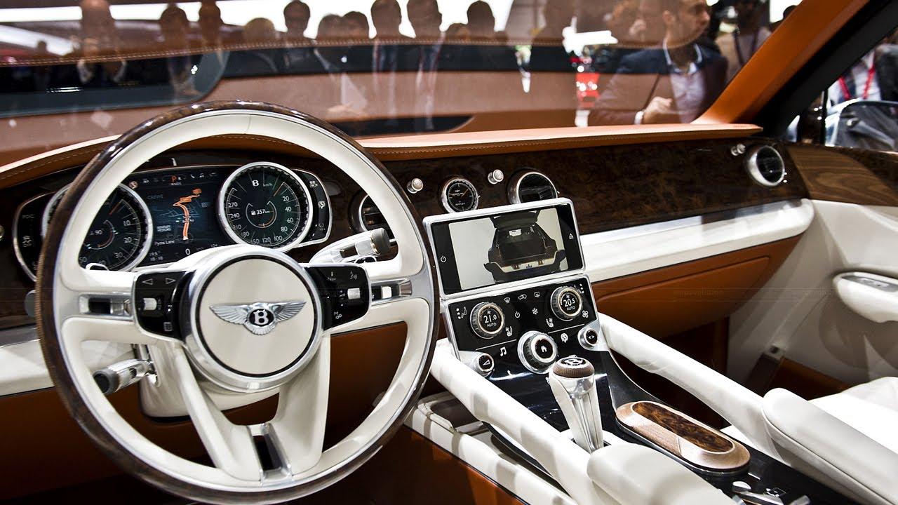 2015 Bentley EXP 9 F SUV Coming Soon - YouTube