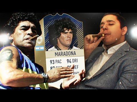 ДИЕГО МАРАДОНА В FIFA 18