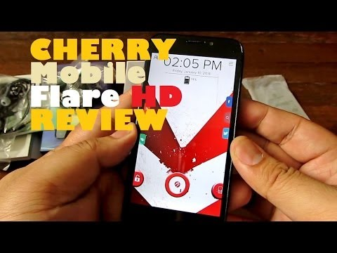Cherry Mobile Flare HD Review - Quad-Core With 4.3