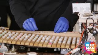 Snubby J Explores Weird Instruments with Blue Man Group