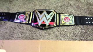 TUTORIAL: HOW TO MAKE THE WWE WORLD HEAVYWEIGHT CHAMPIONSHIP PART 1