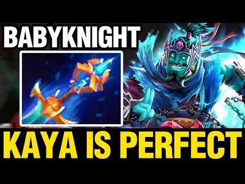 KAYA IS PERFECT - Babyknight Plays Storm Spirit - Dota 2