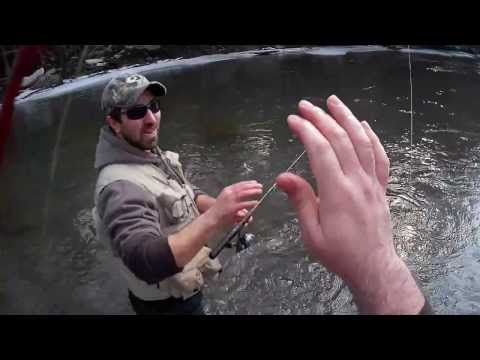 2014 Trout Fishing PA Neshannock Creek