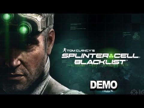 Splinter Cell Blacklist Stealth Demo