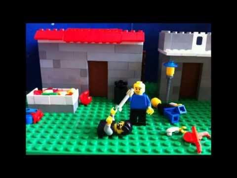 Атака зомби.Лего мультик.