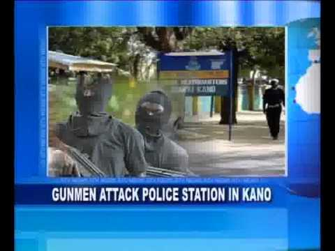Gun men Attack Police Station in Kano