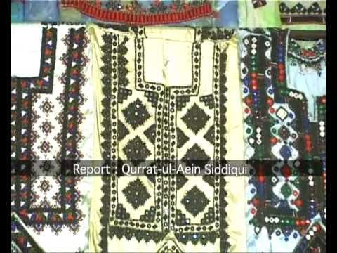 Balochi Embroidery By Qurrat-ul-ain Siddiqui video