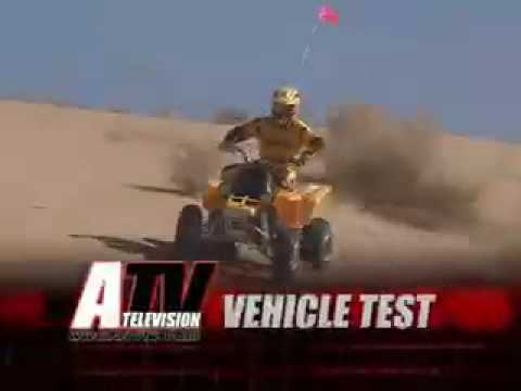 ATV Television Test - 2006 Yamaha Banshee Video