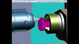 Edgecam Mill/Turn Mazak Integrex i400