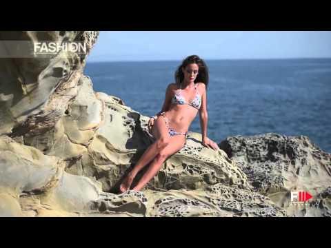 Gracia De Torres for DIVISSIMA Beachwear Backstage Summer 2016 by Fashion Channel