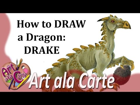 How to draw dragons drake ccuart Choice Image