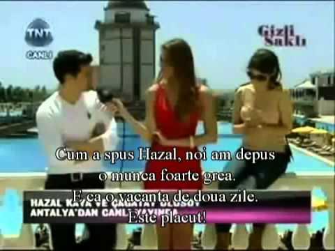 Hazal Kaya Cagatay Ulusoy Interview çağatay Ulusoy Hazal Kaya
