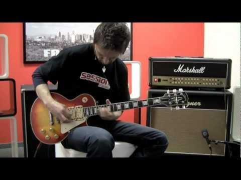 Gibson Les Paul Custom Ace Frehley Budokan Aged HCS
