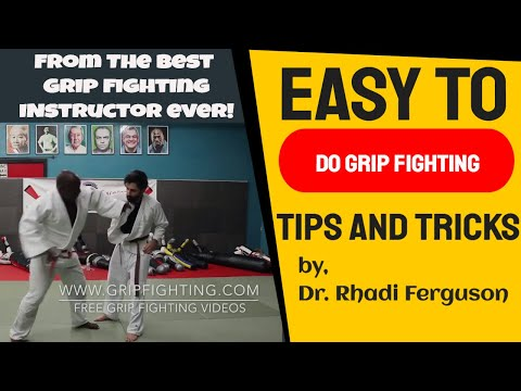 Grip Fighting For Judo and Brazilian Jiujitsu | Understanding Distance And Space