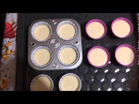 Рецепт вкусных маффинов (кексов) с кремом!