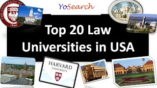 Top Law Universities in USA | Top 20 Law University in USA | Top Law Colleges