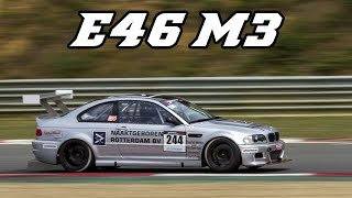 BMW E46 M3 - very loud open exhaust, nice downshifts